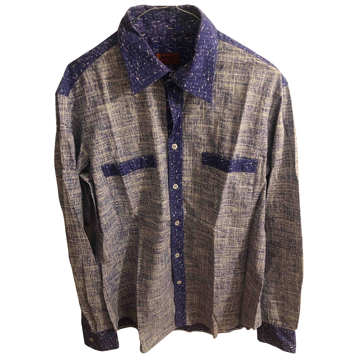 Missoni \N Purple Cotton  top for Women 44 IT