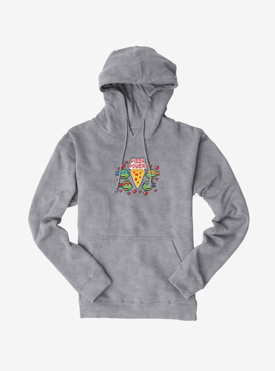 Teenage Mutant Ninja Turtles Pixelated Pizza Power Group Hoodie