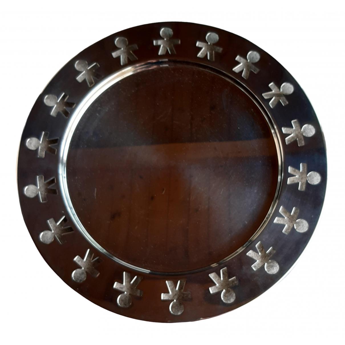 Alessi \N Tischkultur in  Metallic Stahl