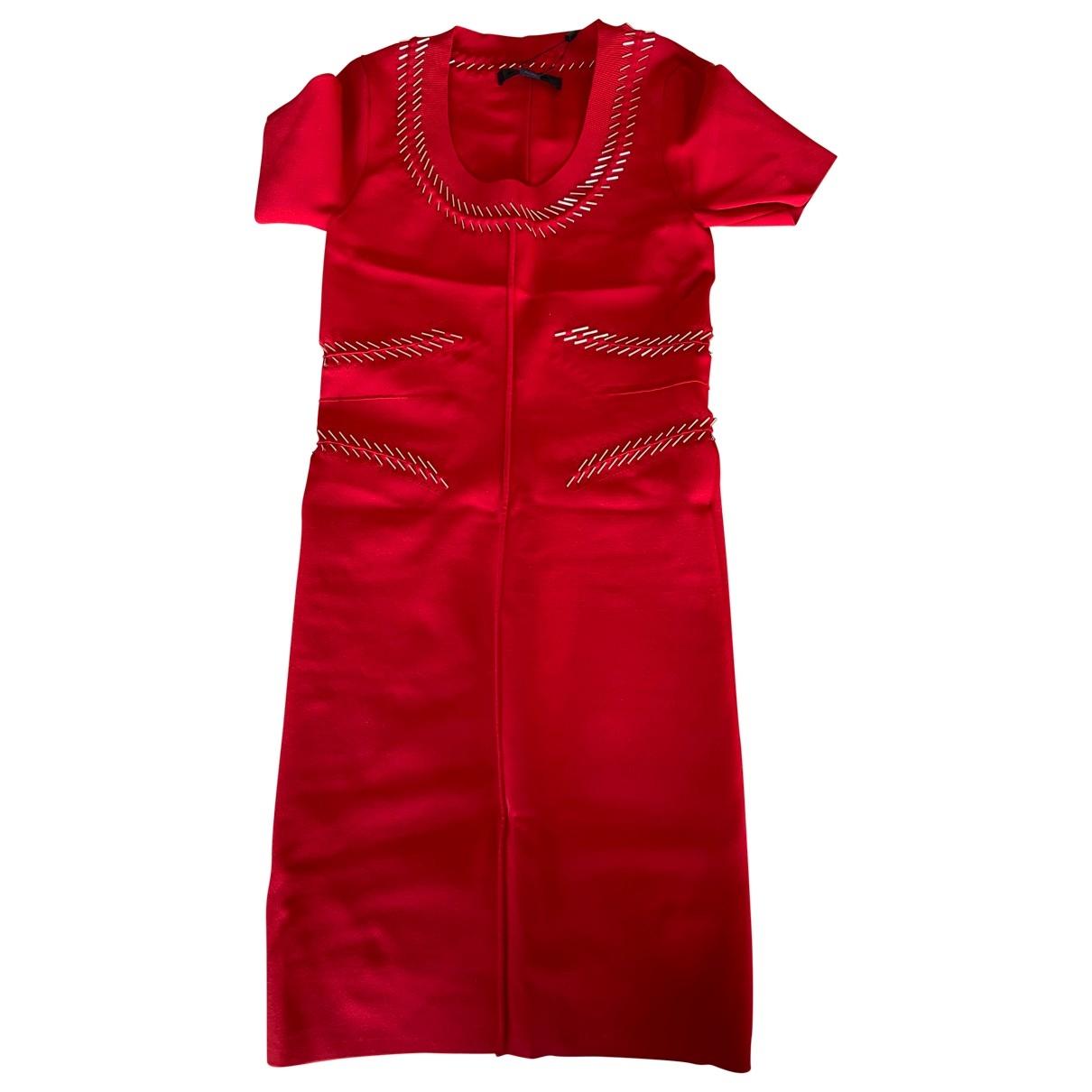 Alexander Wang - Robe   pour femme en coton - elasthane - rouge