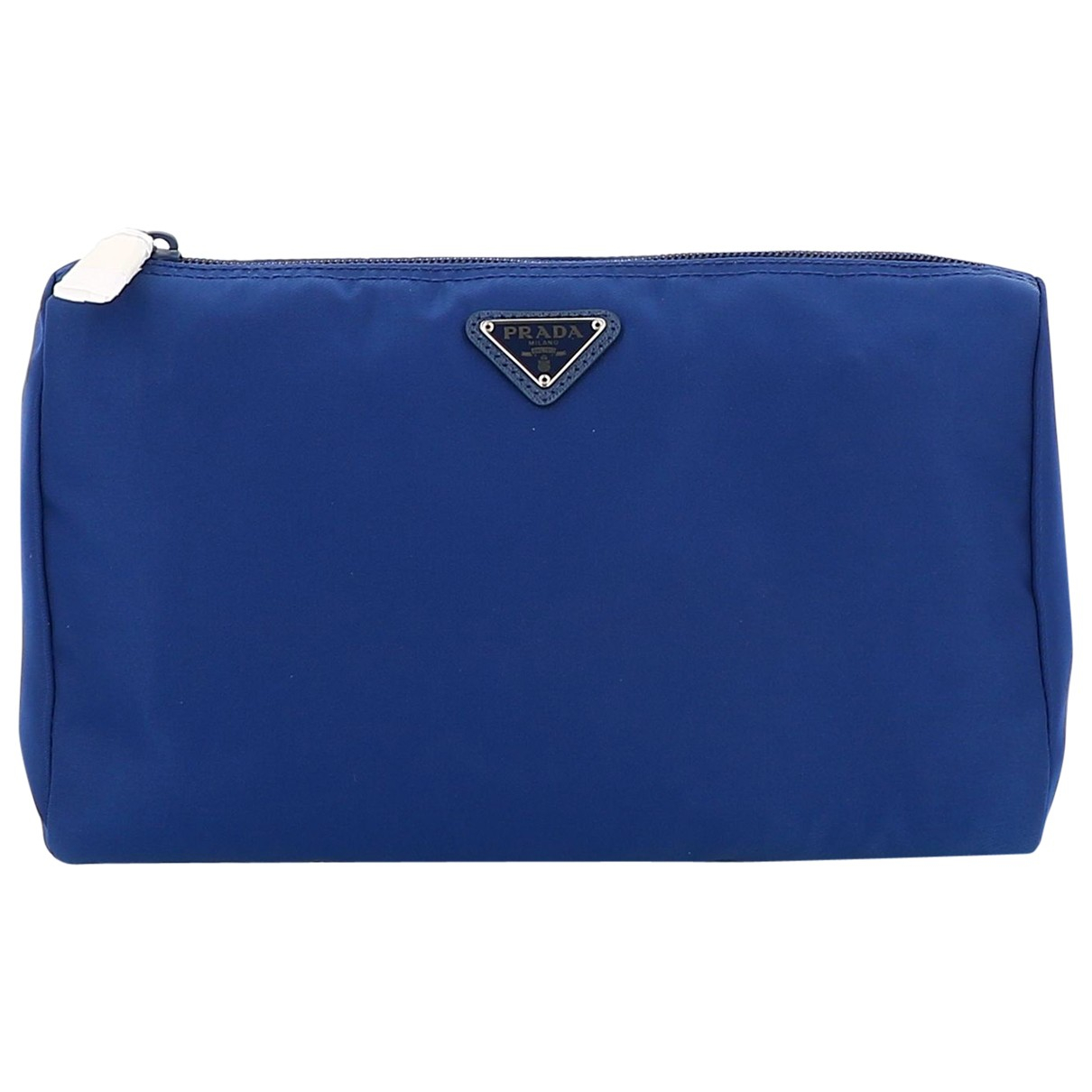 Prada N Blue Cloth Travel bag for Women N