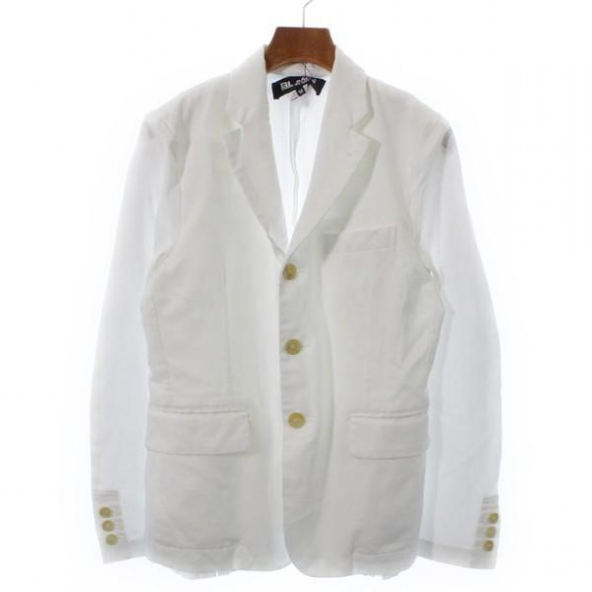 Comme Des Garcons \N Jacke in  Weiss Polyester