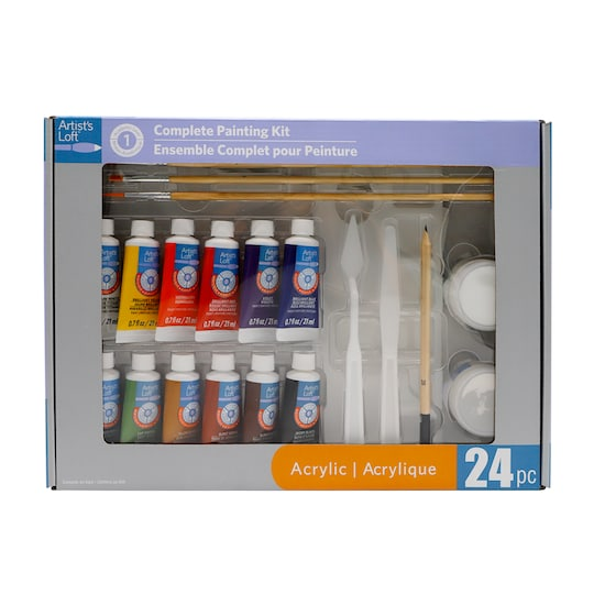Level 1 Complete Acrylic Painting Set By Artists Loft™ | Michaels®