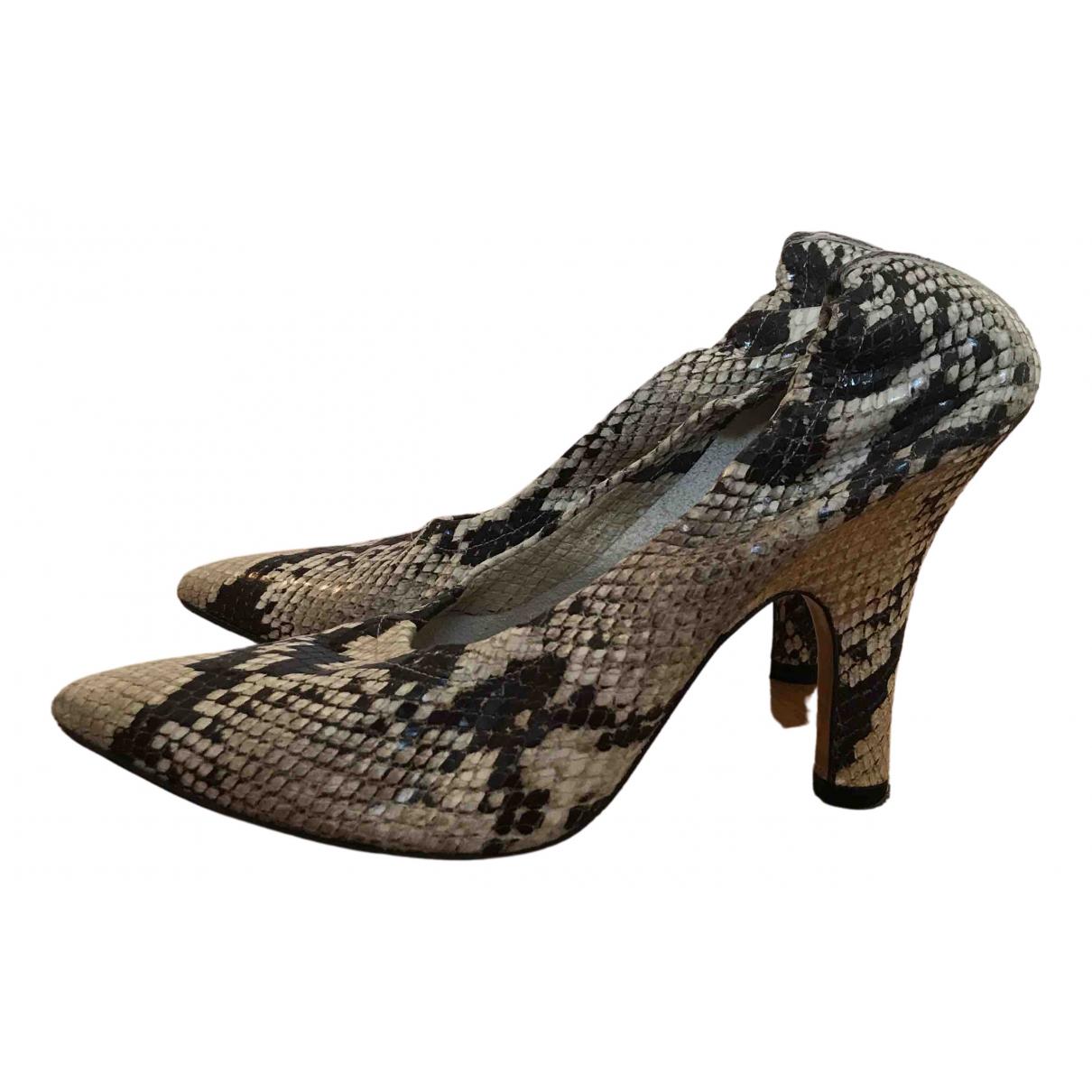 Amélie Pichard \N Brown Leather Heels for Women 39 EU
