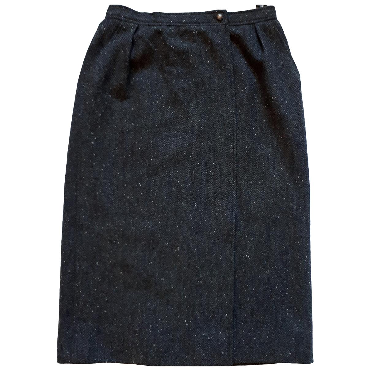Ungaro Parallele - Jupe   pour femme en laine - gris