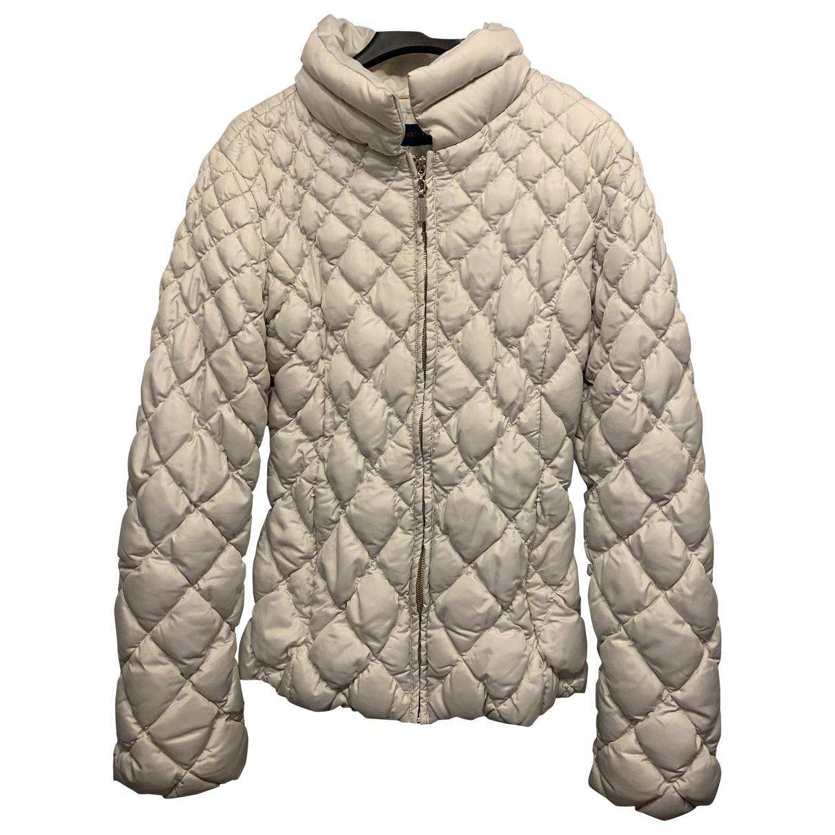 Trussardi Jeans \N Jacke in  Grau Polyester