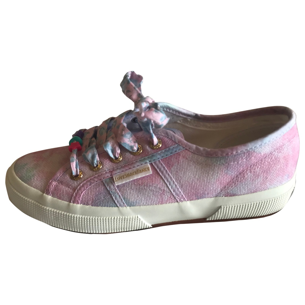 Superga \N Sneakers in  Lila Leinen