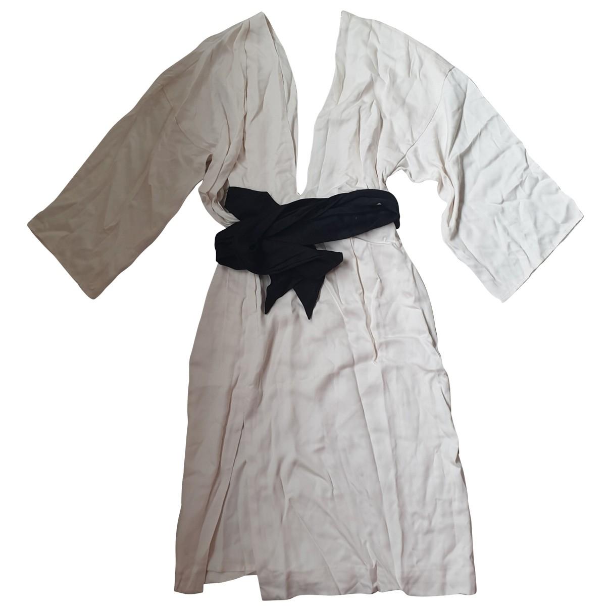 Hm Conscious Exclusive - Robe   pour femme en coton - blanc