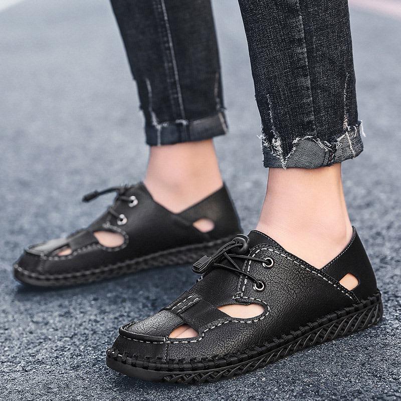 Ericdress Sports Low-Cut Upper Flat Heel Closed Toe Sandals