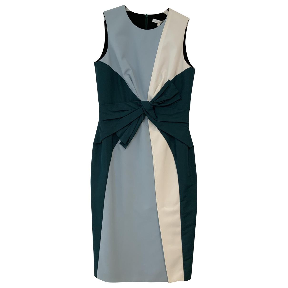 Paule Ka \N Turquoise Cotton dress for Women 36 FR