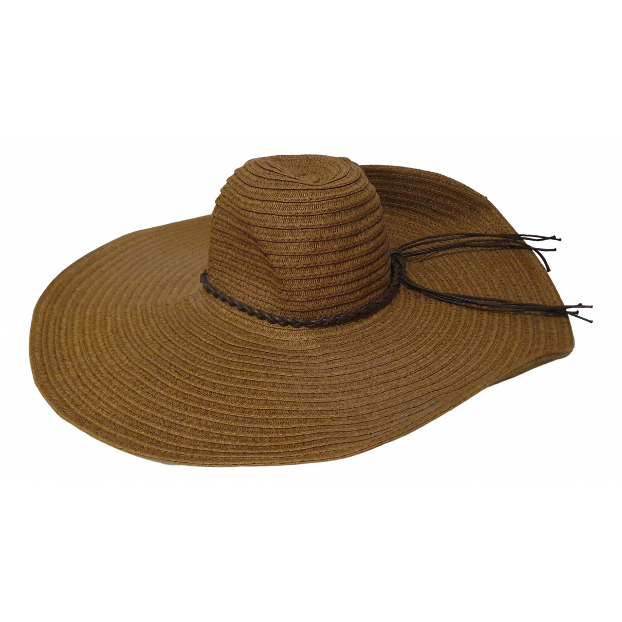 French Connection \N Brown Cotton hat for Women L International