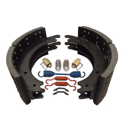 Hd Value HDV4311E20S - New Lined Brake Shoe Kit   Standard Mix   20...