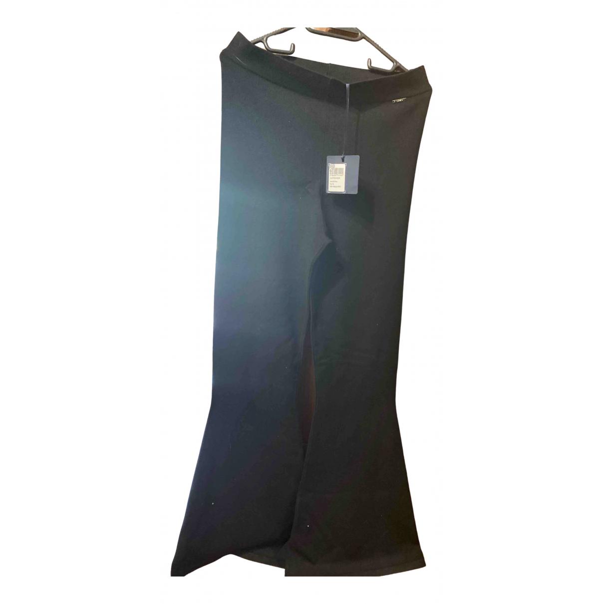 Pantalon en Viscosa Negro Liu.jo