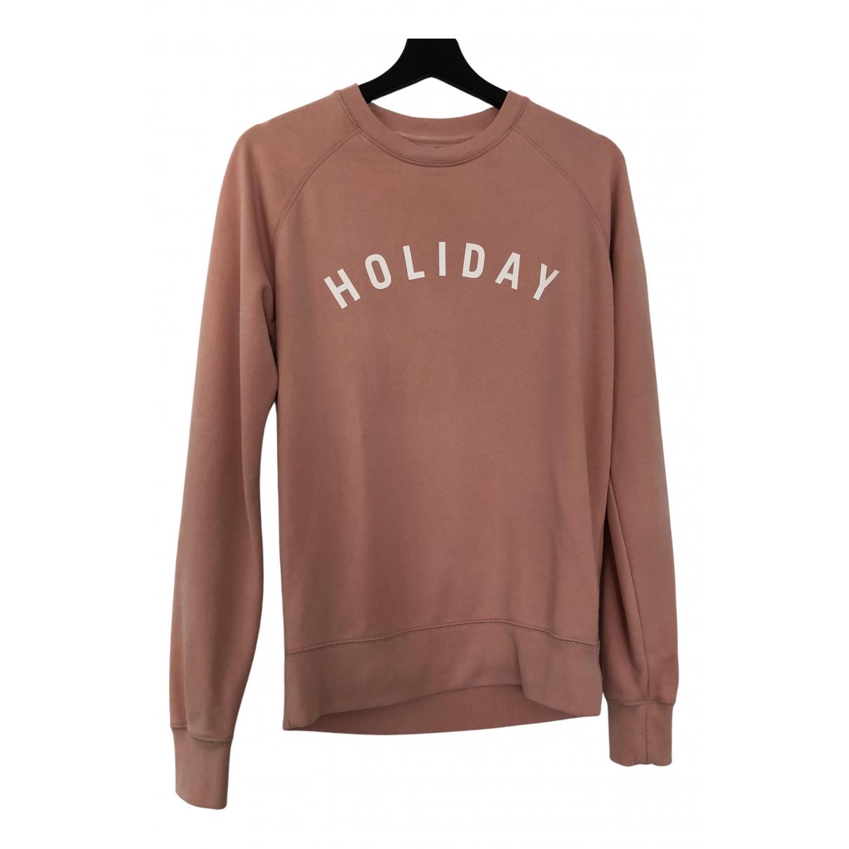 Holiday Boileau - Pull   pour femme en coton - rose