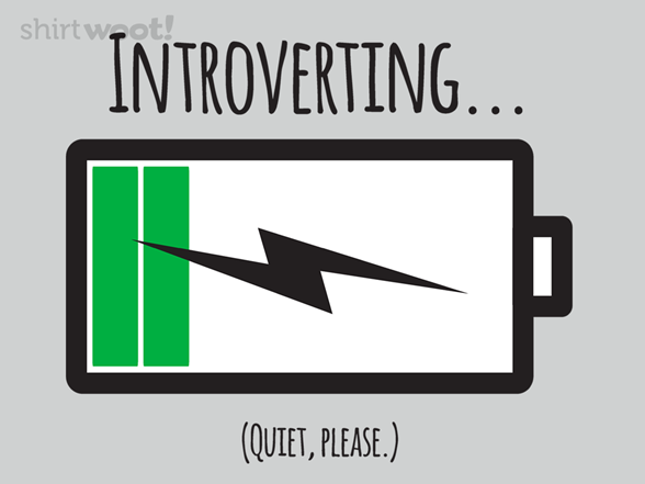 Introverting... T Shirt
