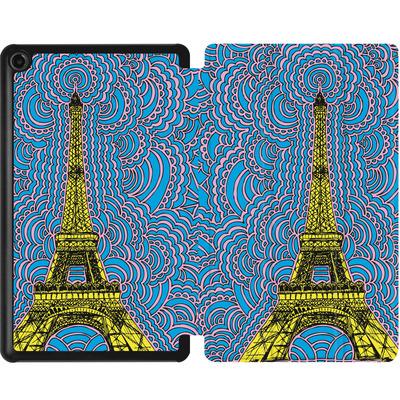 Amazon Fire 7 (2017) Tablet Smart Case - Eiffel Tower von Kaitlyn Parker