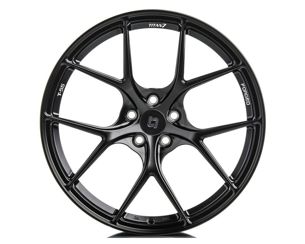 Titan 7 TS502090044513071MB T-S5 Wheel 20x9 5x130 44mm Machine Black