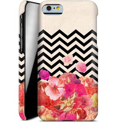 Apple iPhone 6 Smartphone Huelle - Chevron Flora II von Bianca Green