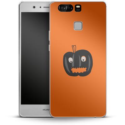 Huawei P9 Silikon Handyhuelle - Pumpkin Monster von caseable Designs