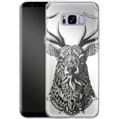 Samsung Galaxy S8 Plus Silikon Handyhuelle - Ornate Buck von BIOWORKZ
