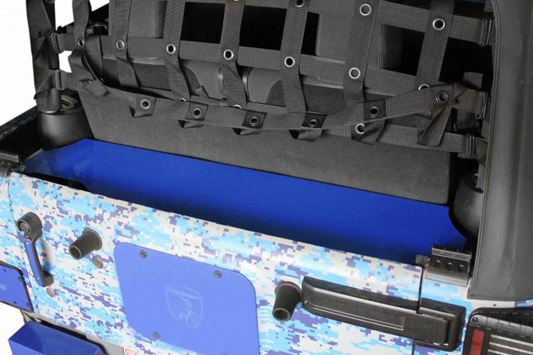 Steinjager J0045951 Storage Box, Rear Wrangler JK 2007-2018 2 Door Southwest Blue