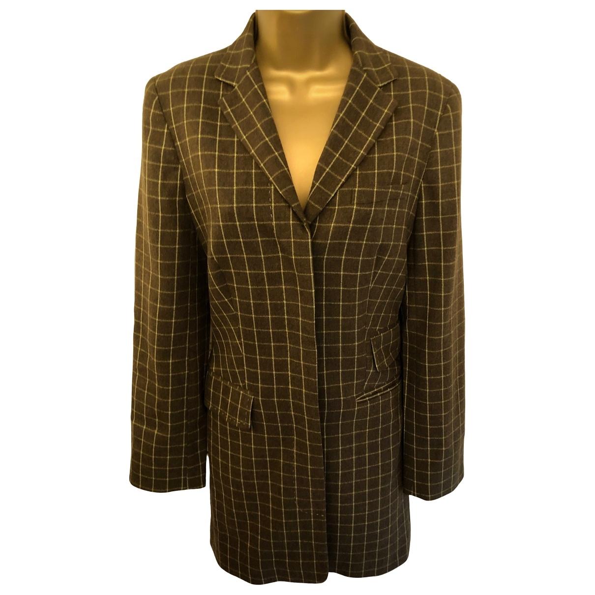 Whistles \N Brown Wool jacket for Women 36 FR