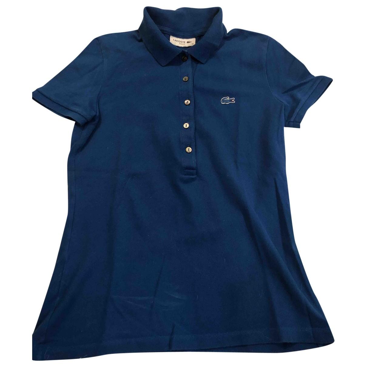 Lacoste \N Oberteile in  Blau Baumwolle