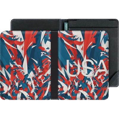 tolino vision 4 HD eBook Reader Huelle - Colorful USA von Danny Ivan