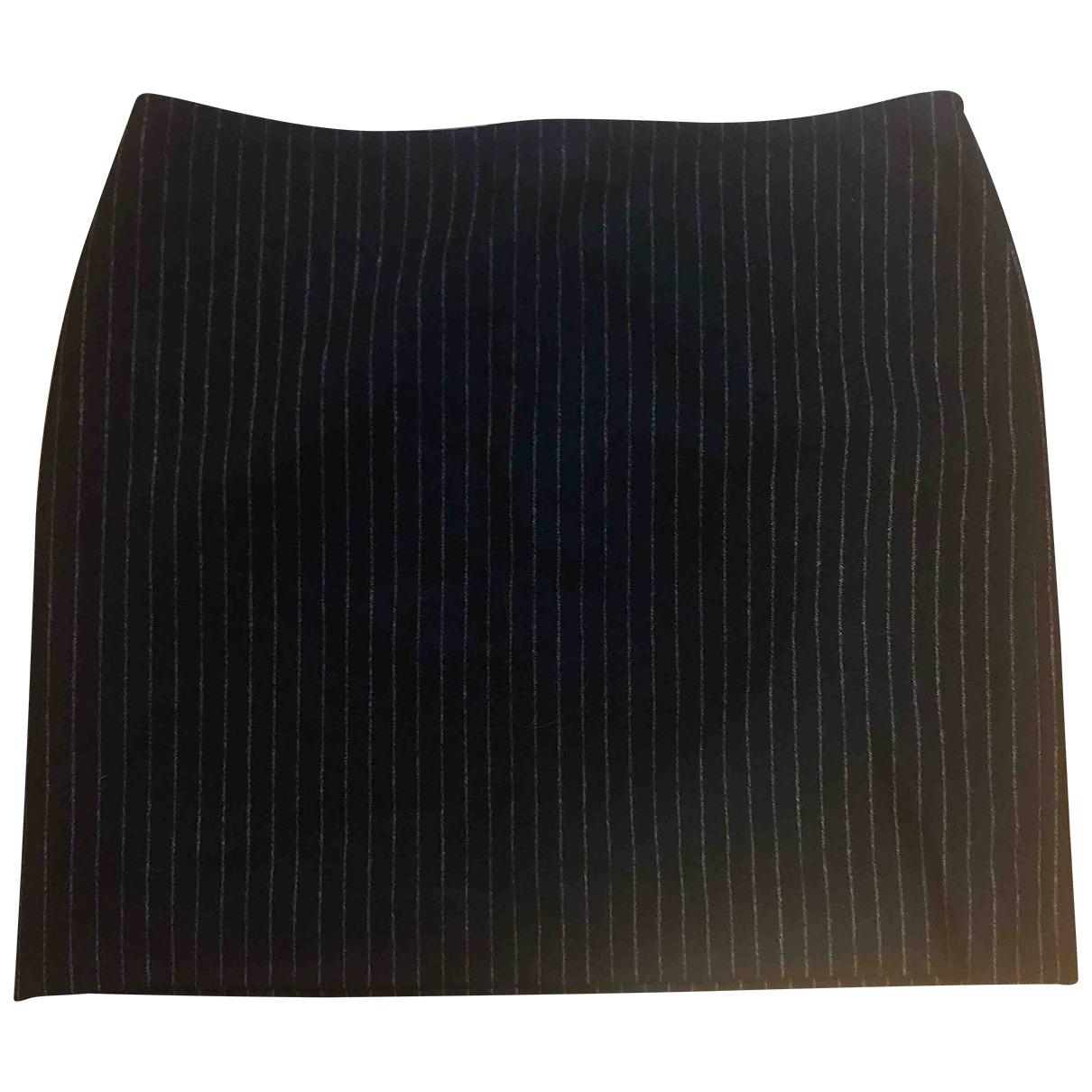 Sport Max \N Grey Wool skirt for Women 40 IT