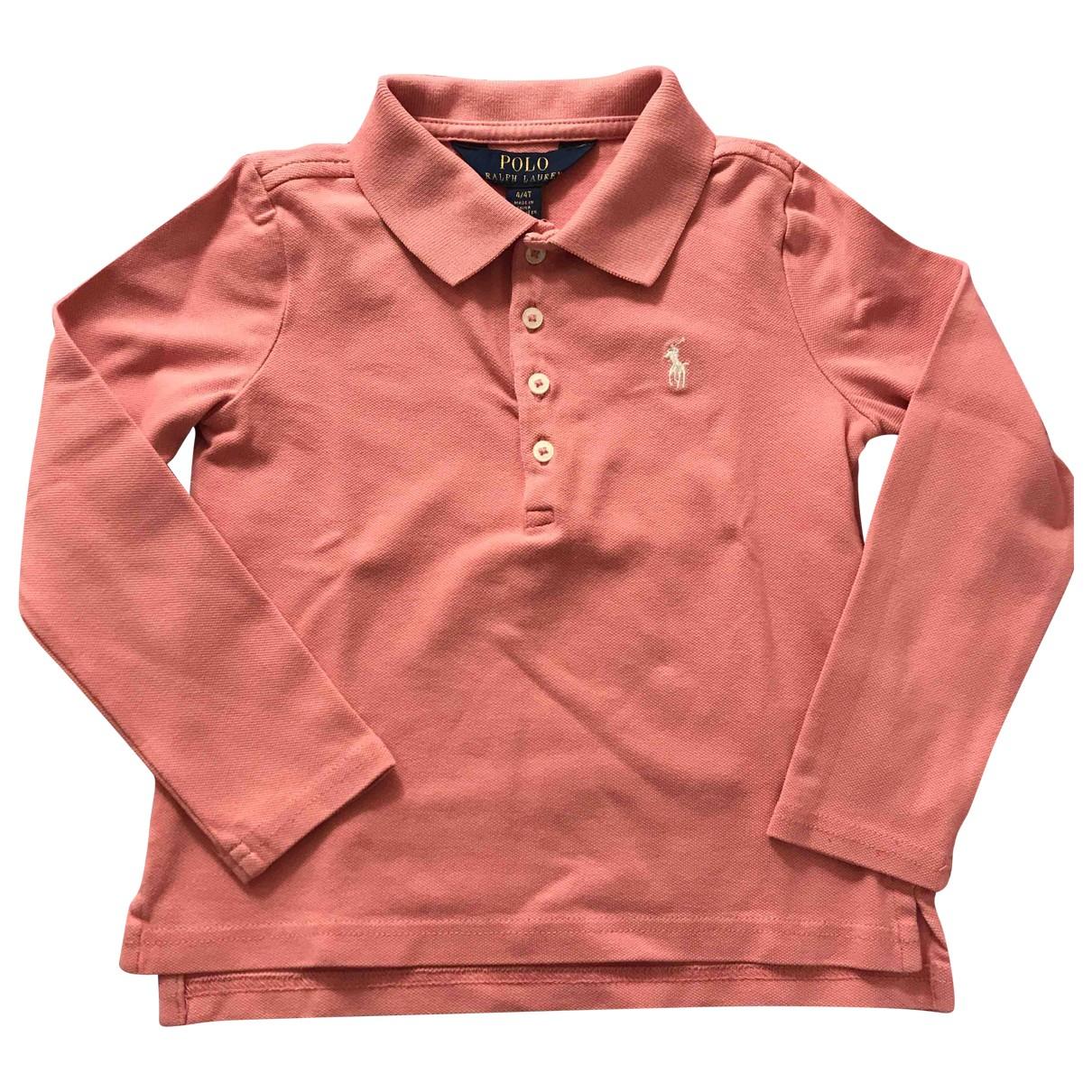 Polo Ralph Lauren - Top   pour enfant en coton - rose