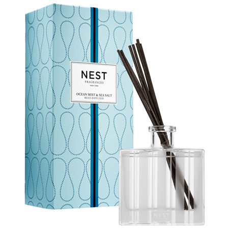 NEST Ocean Mist & Sea Salt Reed Diffuser, One Size , Multiple Colors