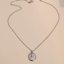 Rose Decor Charm Necklace