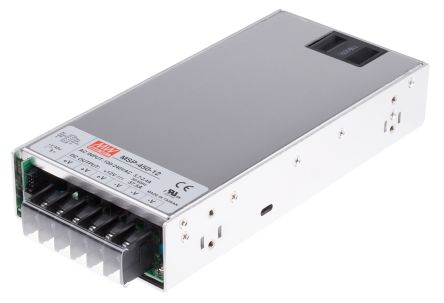 Mean Well , 450W Embedded Switch Mode Power Supply SMPS, 12V dc, Enclosed, Medical Approved