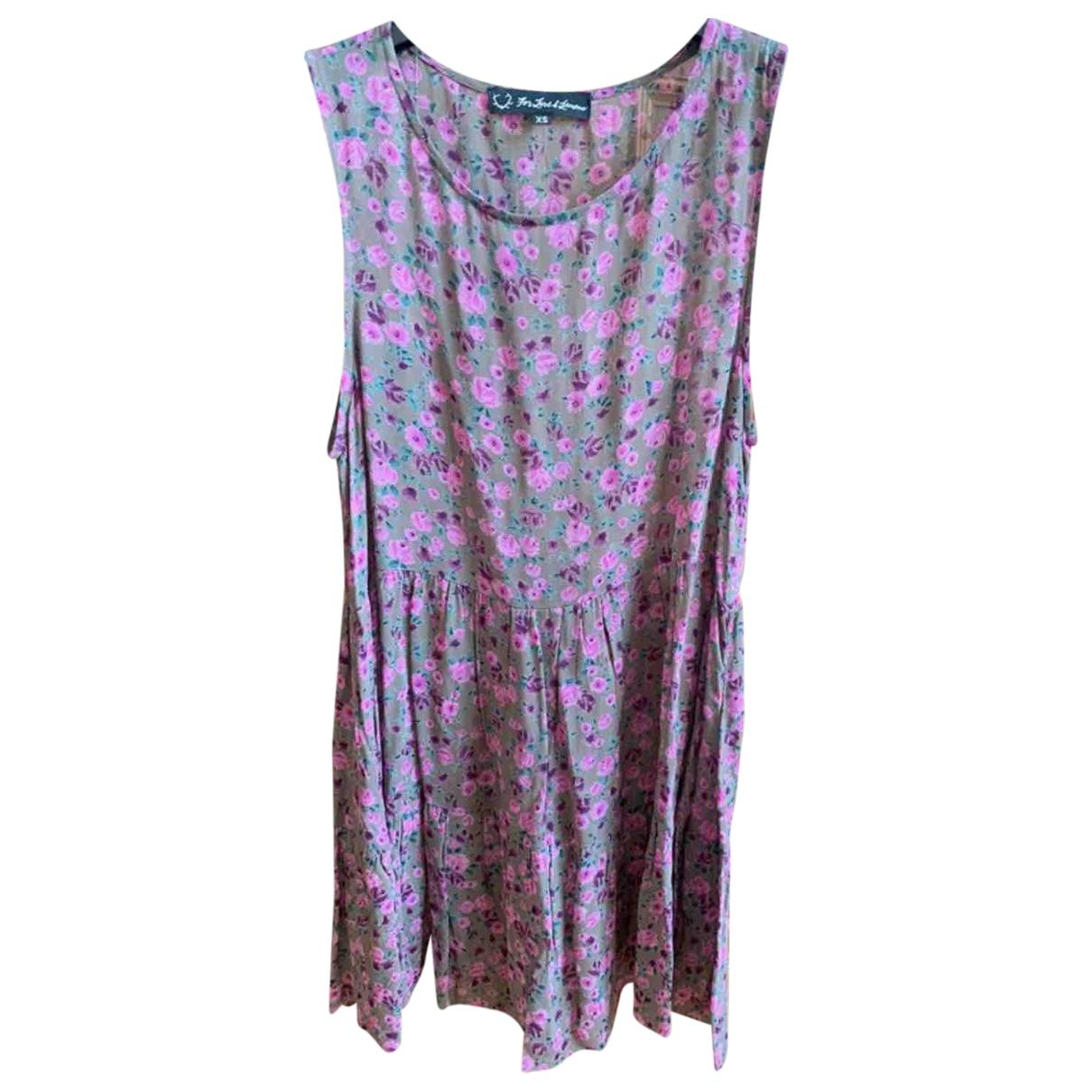For Love & Lemons \N Kleid in  Lila Polyester