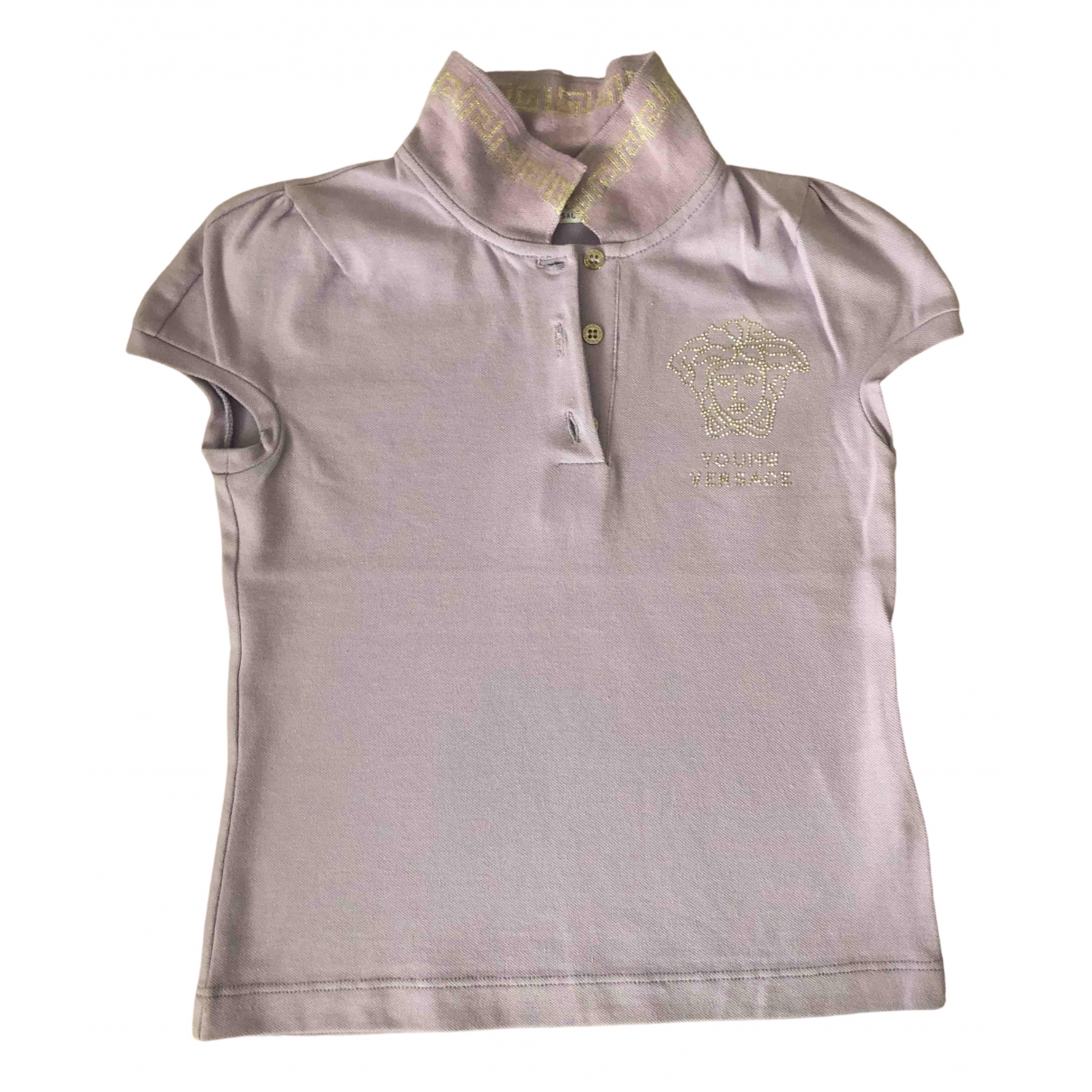Versace \N Purple Cotton  top for Kids 6 years - up to 114cm FR