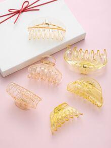 6pcs Acrylic Hair Claw