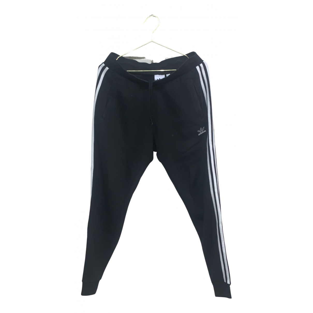 Adidas N Black Cotton Trousers for Men M International