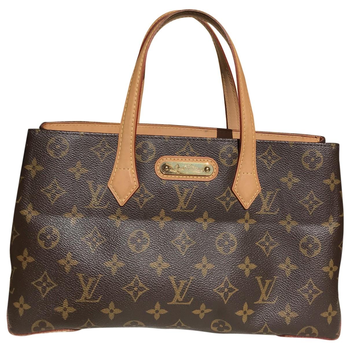Bolso  Wilshire de Lona Louis Vuitton