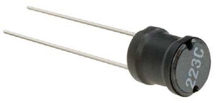 Murata Power Solutions Murata 47 μH ±10% Leaded Inductor, Max SRF:1kHz, 1.5A Idc, 110mΩ Rdc, 1300R (5)
