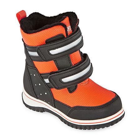 Totes Toddler Boys Jake Water Resistant Winter Boots, 9 Medium, Black