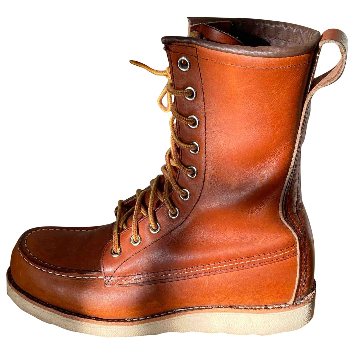 Red Wing Heritage \N Brown Leather Boots for Women 37 EU
