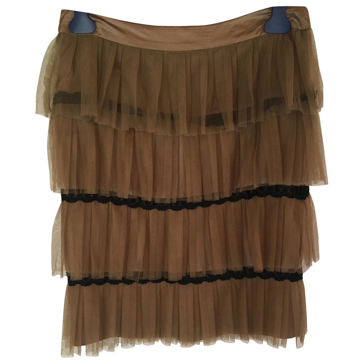 Pinko \N Beige skirt for Women 42 IT
