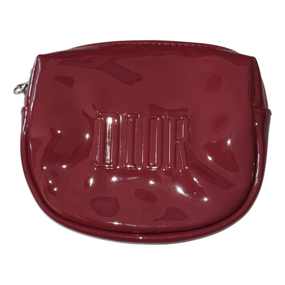 Dior \N Reisetasche in  Bordeauxrot Kunststoff