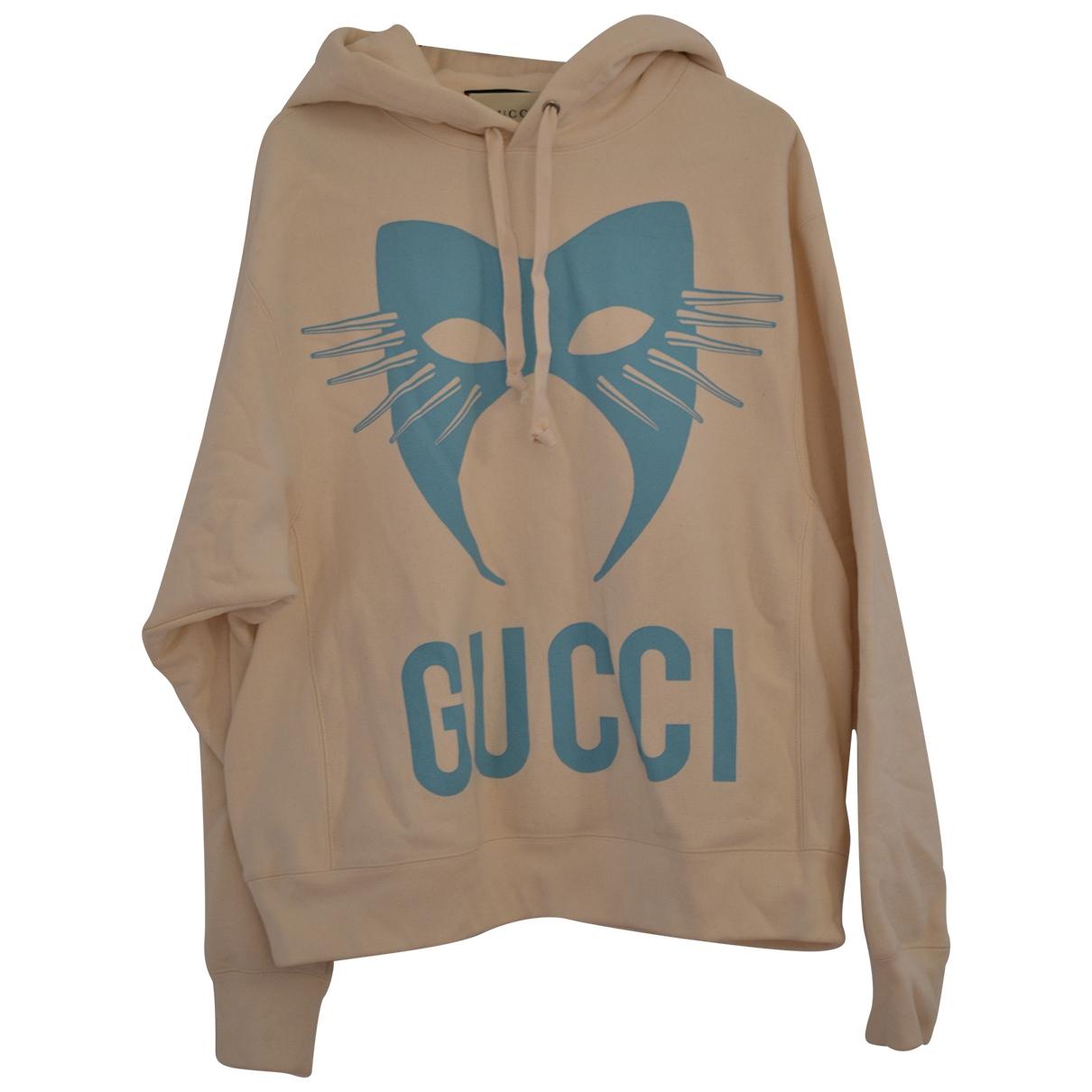 Gucci \N Beige Cotton Knitwear for Women XS International
