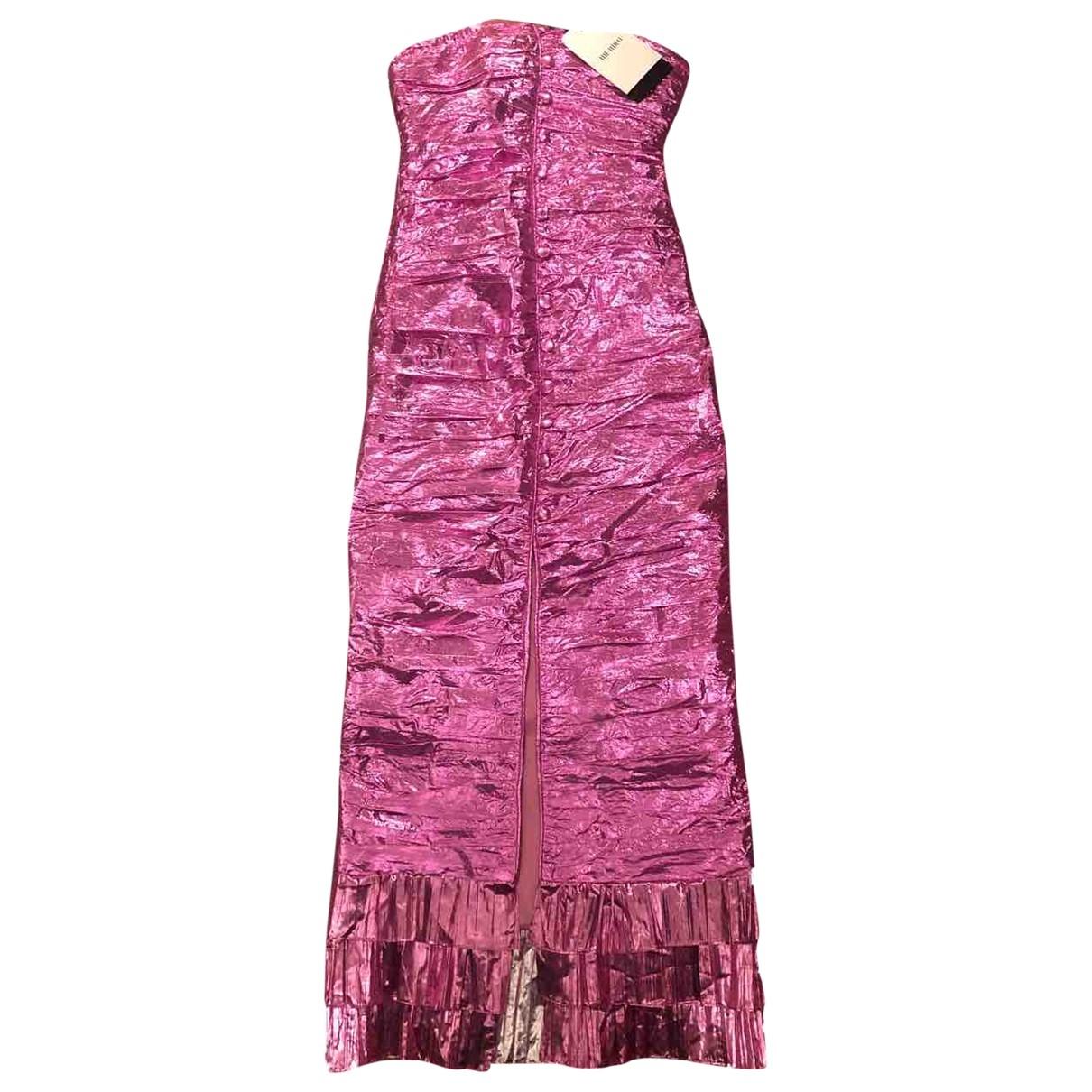 Attico \N Kleid in  Rosa Synthetik