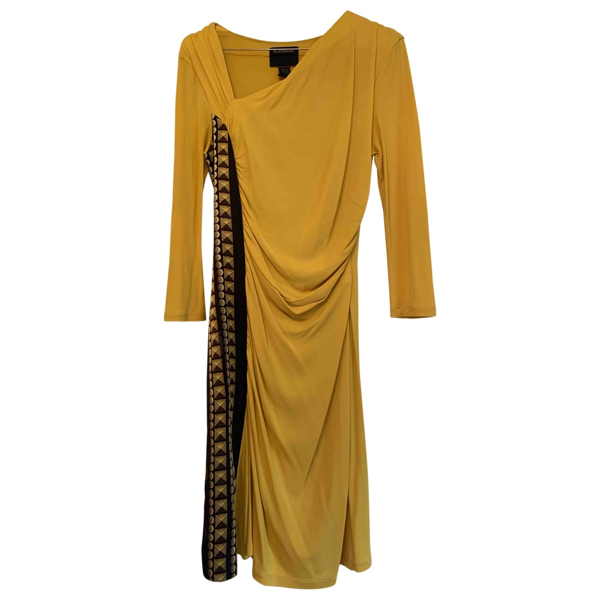 Class Cavalli \N Yellow dress for Women 38 FR
