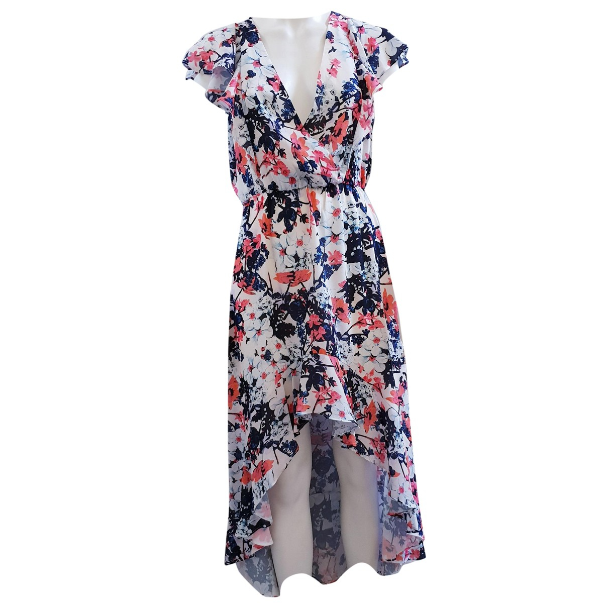 Parker Ny \N Kleid in  Weiss Polyester