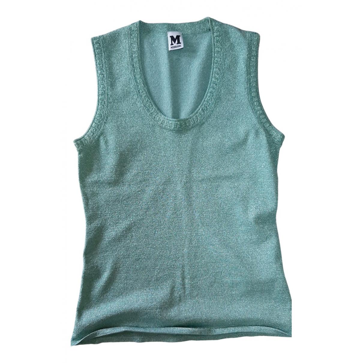 M Missoni - Top   pour femme - turquoise