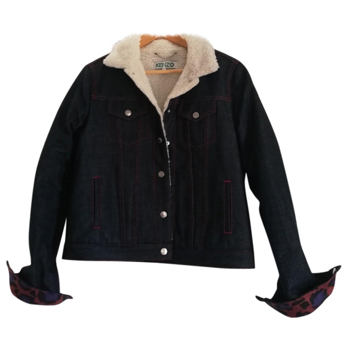 Kenzo \N Navy Denim - Jeans jacket for Women L International