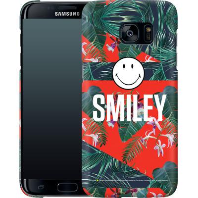 Samsung Galaxy S7 Edge Smartphone Huelle - Tropical Groove von Smiley®